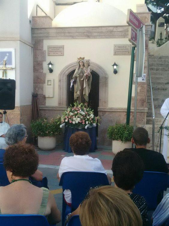 Virgen del Carmen. Alhama de Almería #Alpujarra #Almería #ILoveAlpujarra