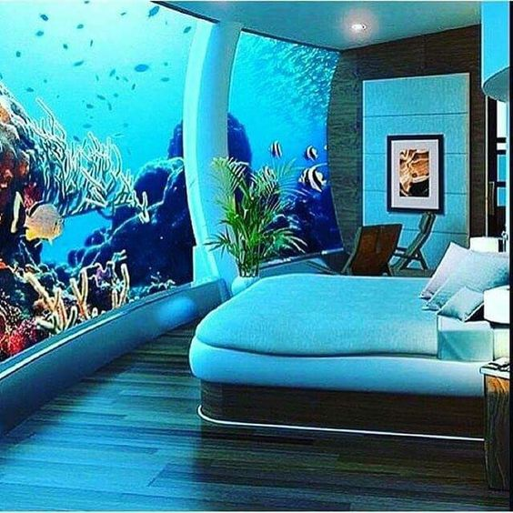 A bedroom I know I'd never leave