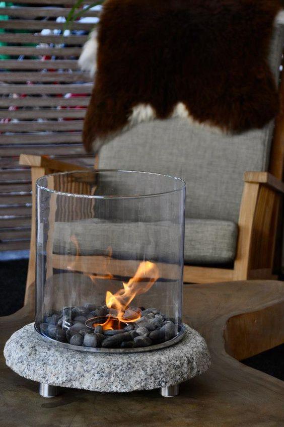 エタノール燃料暖炉_Stone