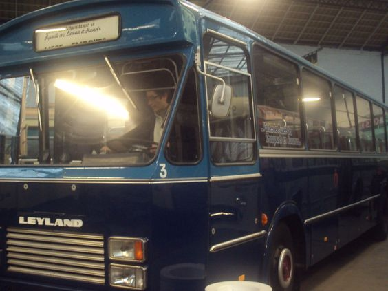 oude bus te Luik