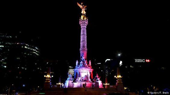 Ein Engel in Mexiko-Stadt                                                                                                                                                                                 Mehr