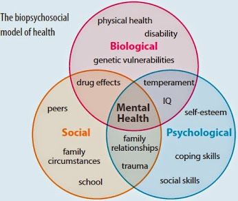 Similarities of the medical model and the psycho social behavioral model