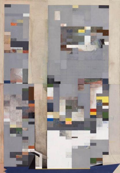 Frachter, 2012, Eitempera auf Leinwand, 290 cm x 200 cm, Robert Seidel.jpg