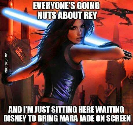 Yep! EU should definitely be canon.... The legacy of the force was an amazing book series!