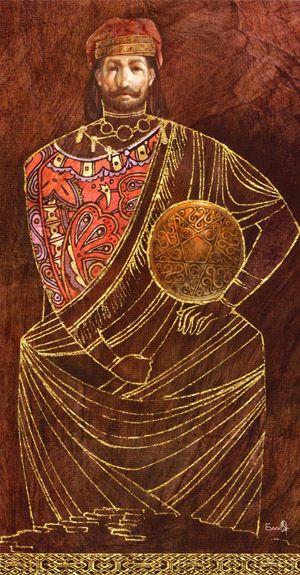 King of Coins (Pentacles) - Lunatic Tarot
