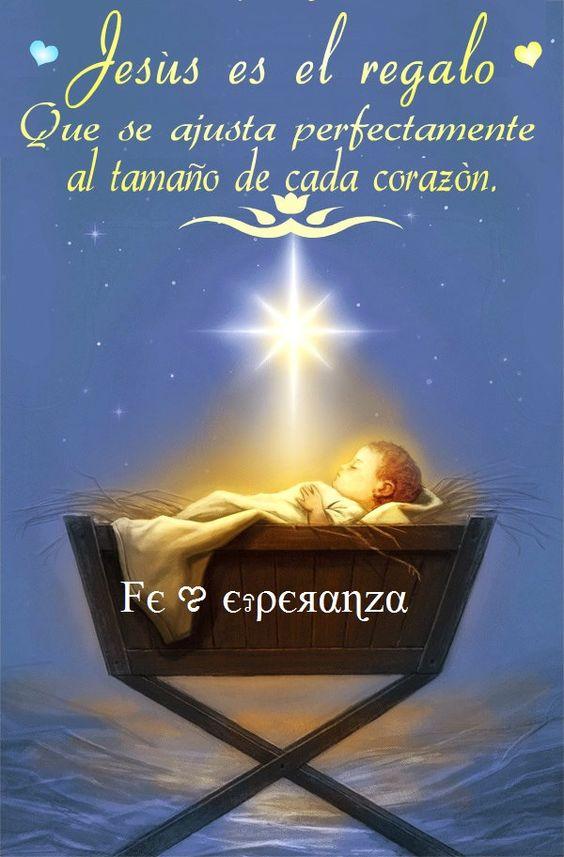 Jesus es el mejor regalo imagenes pinterest navidad - Felicitaciones de navidad cristianas ...