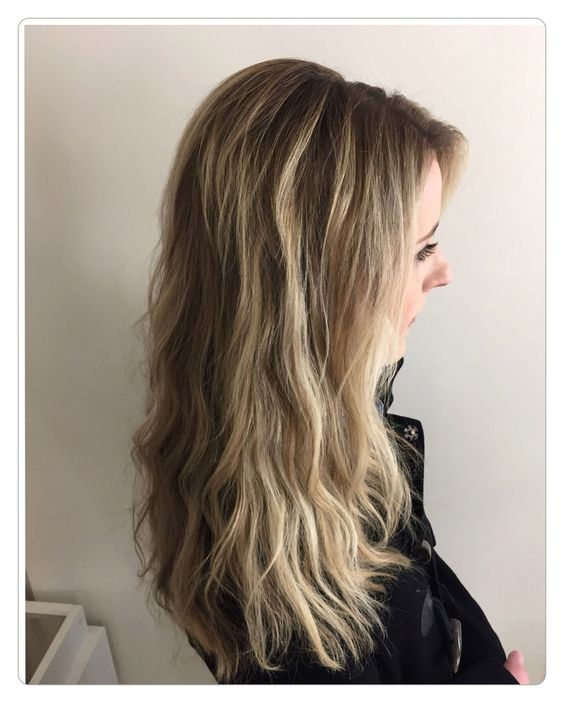 Balayage -highlights