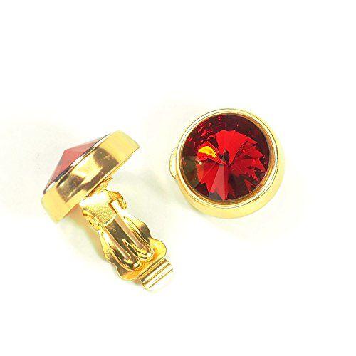 streitstones Ohrklips vergoldet rot bis zu 50 % Rabatt Lagerauflösung streitstones http://www.amazon.de/dp/B00TEEOU8Q/ref=cm_sw_r_pi_dp_DBT6ub0NYCAQT, streitstones, Ohrring, Ohrringe, earring, earrings, Ohrclips, earclips, bling, silver, gold, silber, Schmuck, jewelry, swarovski