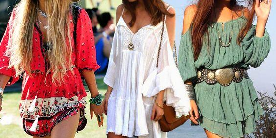 Bata indiana e vestidos indianos no verão.