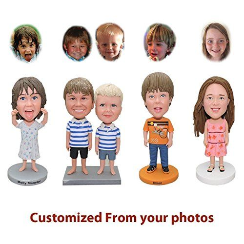 Customized Bobblehead Dolls Figures from Head to Toe Based on Your Photos -  Unique Gift Ideas… | Customised birthday gifts, Birthday gifts for kids, Bobblehead  doll
