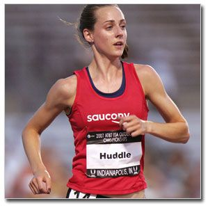 Molly Huddle- Also amazingly fast.
