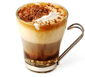 Caribbean Coffee. This coffee drink combines the great aroma of black coffee with dark rum, a bit of brown sugar and some coconut extract optionally. On the top goes to whipped cream to top it off