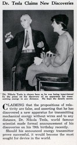 Original Newspaper Article on Tesla - Nikola Tesla Photo (3366046) - Fanpop