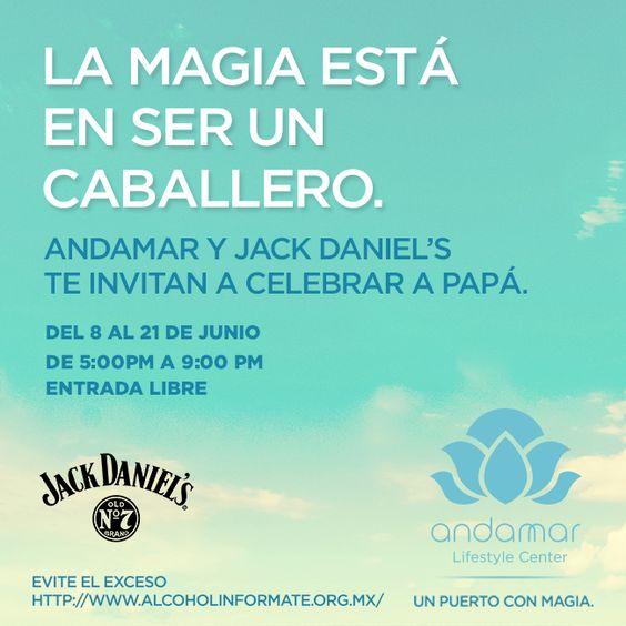 Celebra a papá con Jack Daniels y Andamar :D