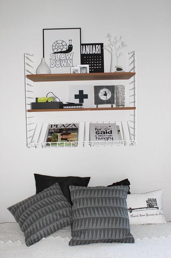 stringhylla inspiration kreativt vardagsrum pinterest inspiration. Black Bedroom Furniture Sets. Home Design Ideas