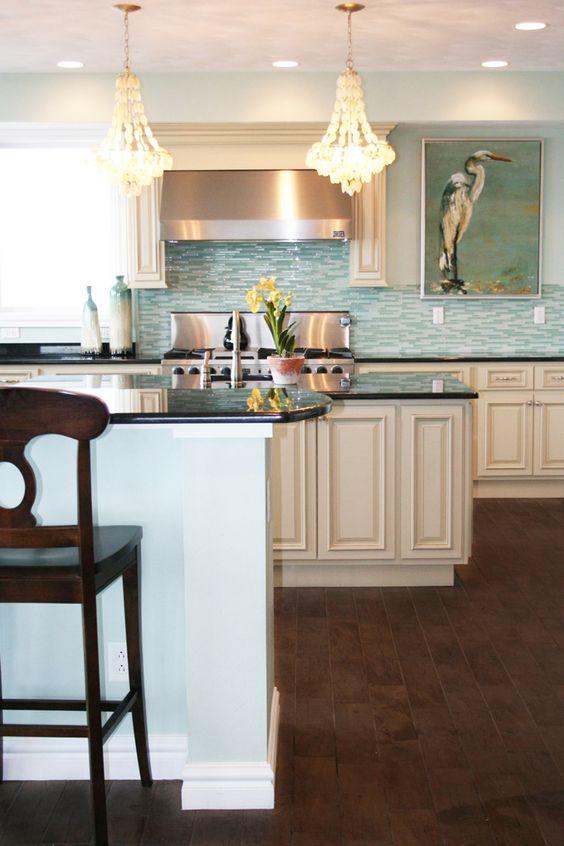 coastal kitchen | EA Interior Designs