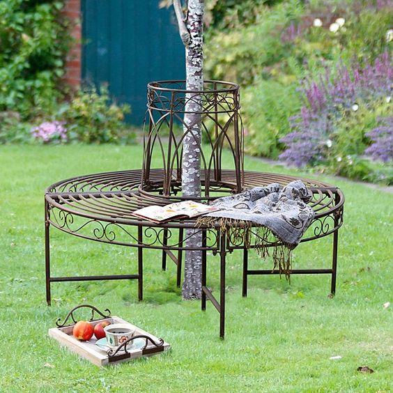 Baumbank Für Junge Bäume | Projekt Gartengestaltung | Pinterest | Pelz Baum Fur Den Garten Outdoor Bereich Perfekt Geeignet