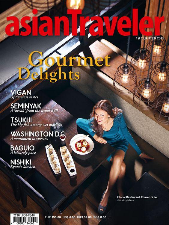 asianTraveler Gourmet Delights 1st edition 2015