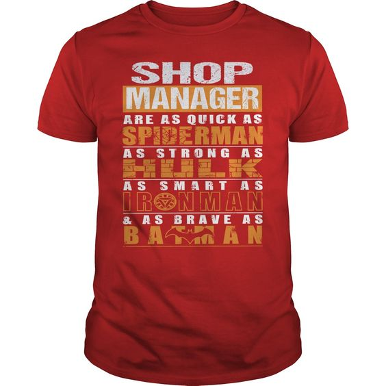 SHOP MANAGER T-Shirts, Hoodies. GET IT ==►…