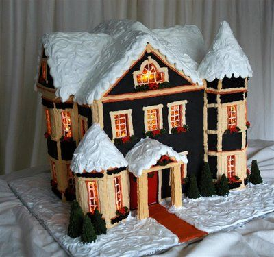 Amazing Gingerbread Houses