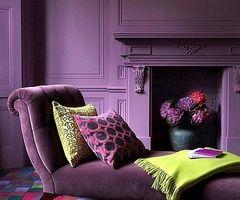 Matte purple monochrome