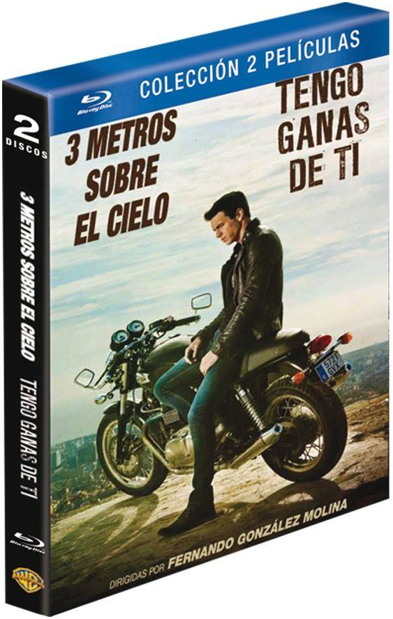 Pack Tres Metros Sobre El Cielo Tengo Ganas De Ti Blu Ray Sobre
