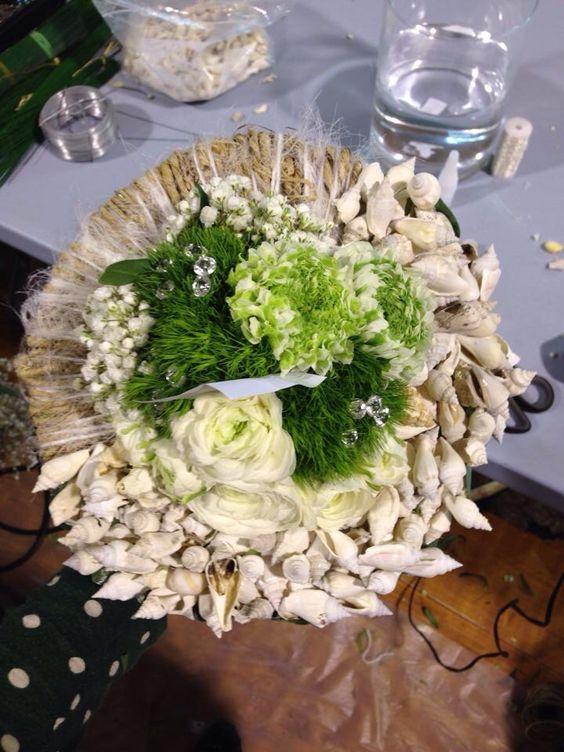 Bouquet de mariée mediteraneen #national #meilleurapprentidefrance