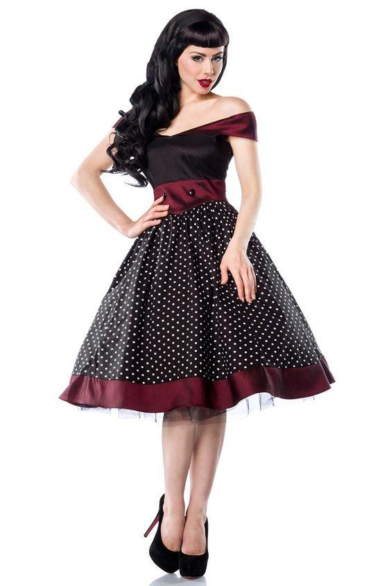 zauberhaftes Rockabilly Kleid