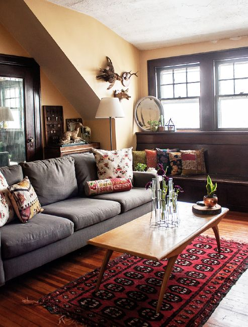 Love Seat Warm Living Rooms And Living Room Colors On Pinterest