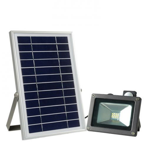 Solar Powered 6w Flood Light With 16 Cord Flood Lights Solar Power House Solar Power