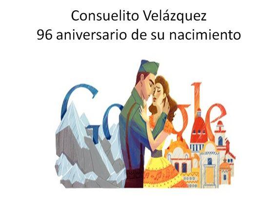 Burbujas Web - Noticias internacionales: Bésame Mucho de Consuelito Velázquez en un Doodle de Google