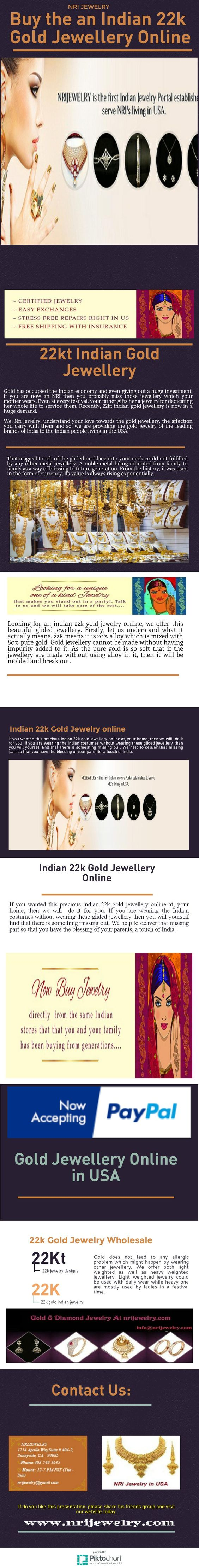 22Kt gold jewelry online 22kt Indian Gold Jewellery