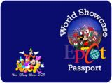 This is a super cute and educational idea for older kids at WDW.  A passport for them to collect stamps at all the stations...