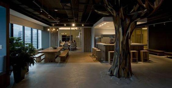 O novo escritório do Twitter em São Paulo