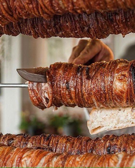 Kokoreç, Tripas de cordero, Turquía