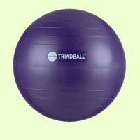 Triad Ball Exercise Ball by Ball Dynamics. Save 54 Off!. $19.19. The Triad Exercise Ball was developed by Pilates Master Trainers Michael Fritzke and Ton Voogt to deepen your Pilates workout. The Triad Ball is slightly larger than a mini exercise ball, and it helps you get the benefits of an expensive Pilates studio workout in the comfort of our own home. Not into Pilates? Use the Triad Ball when doing sit-ups to build core strength.