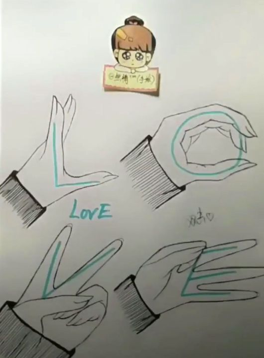 Min Shop Áº£nh Vẽ 16 I Love You Anime Poses Reference Anime Hands Hand Drawing Reference