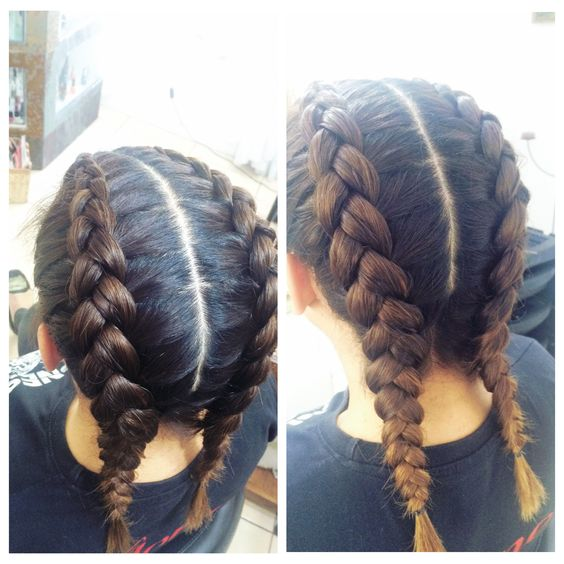 Trenzas Francesa Al Rev 233 S ️ Hair Look Pinterest