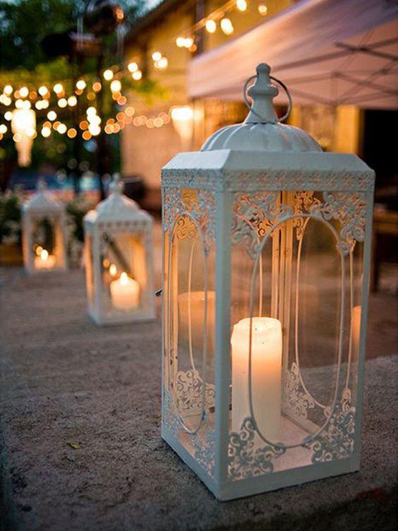 Decoração de casamento com velas | Veja como usar: