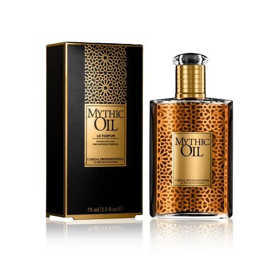 Mythic Oil Perfume | Hair & Body Scent | L'Oréal Professionnel : An absolute pampering for my hair after a good blowdry