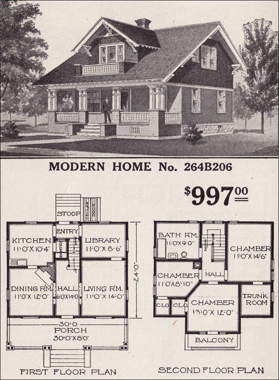 1916 Sears Roebuck Moderne Homes