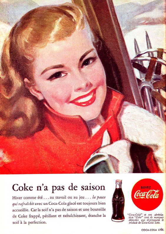 Coca-Cola ad from 1948.