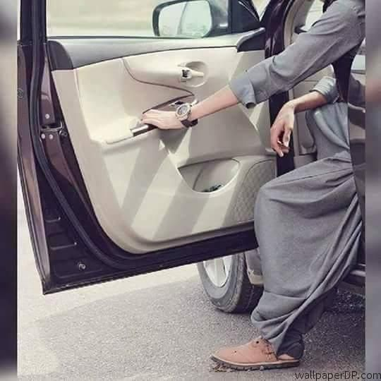 Image for Beautiful Style and Attitude in Car Dp Pic for Boy