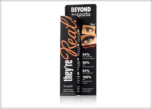 Benefit Cosmetics - they're real! mascara #benefitgals