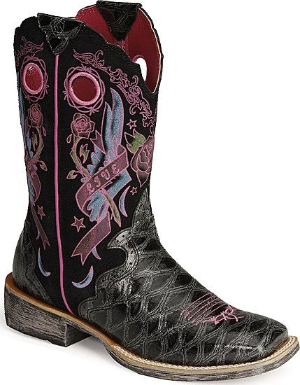 Women&39s Ariat Western Boots Ariat Rodeobaby Rocker Boot- i have