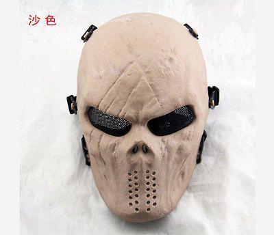 Tactical Taktisch Maske Skull Totenkopf Totenschädel Vollständige Gesichtmaske