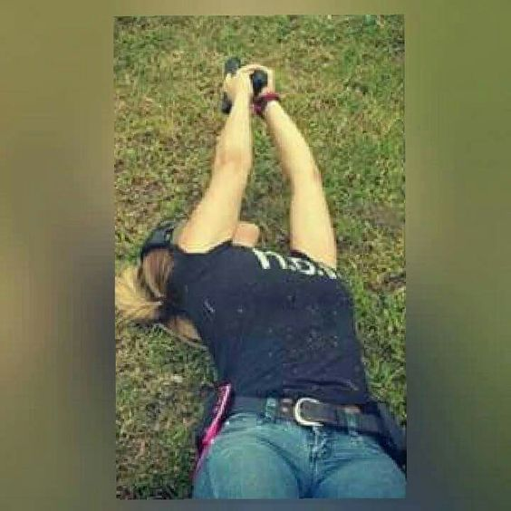 Girls with Guns 💙💛💚❤💖💗💟💜