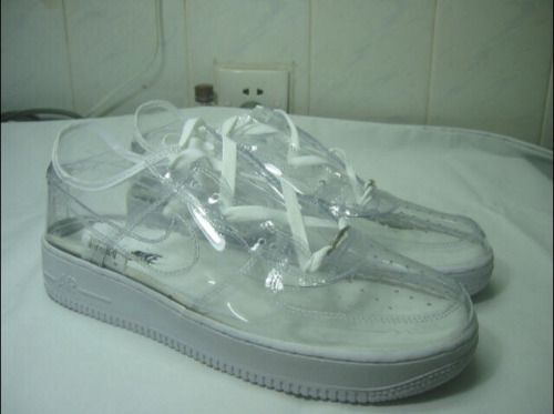Nike i D Air Force 1 Transparent Series (2013) | Chaussure