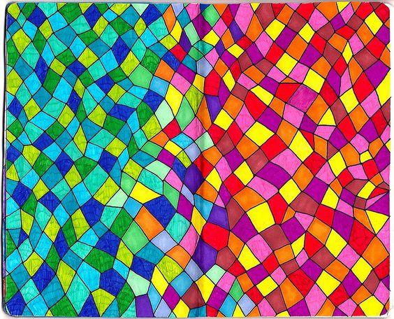Couleurs chaudes couleurs froides ecole arts visuels - Couleur chaudes et froides ...