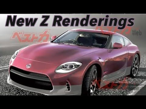 New 2021 Nissan 400z Car Renderings Looks Like This Car Youtube In 2020 Nissan Car Rendering